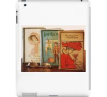 Vintage Books iPad Case/Skin