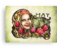 Jessie of May Canvas Print