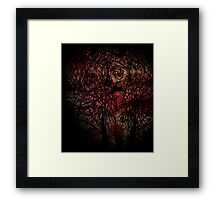 Rose's are Dead Framed Print