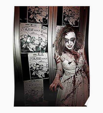 Adelaide Zombie Walk 2010 Poster