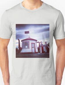 Tiny Old Fashion Teapot Gas Station T-Shirt