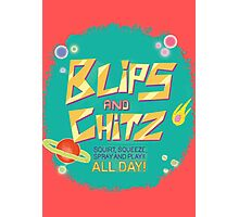 Blips and Chitz // Rick and Morty Photographic Print