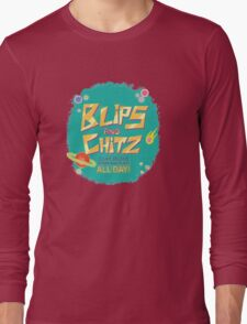 Blips and Chitz // Rick and Morty Long Sleeve T-Shirt