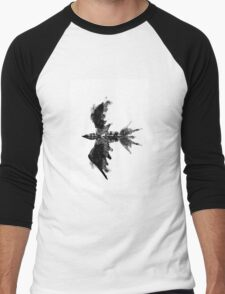 Inkblot bird Men's Baseball ¾ T-Shirt
