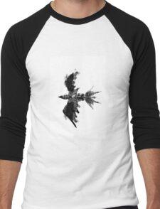 Inkblot bird Men's Baseball ¾ T-Shirt
