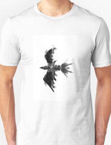 Inkblot bird Unisex T-Shirt
