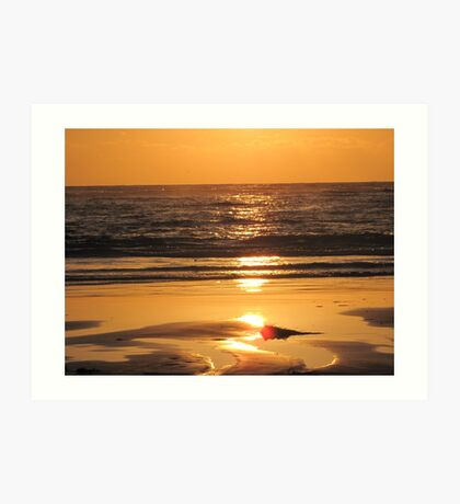 Lancelin Sunset Art Print