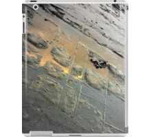 Golden Reflection on the Tessellated Pavement  iPad Case/Skin
