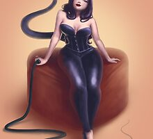 Cat woman pin up by emangelique