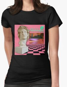 FLORAL SHOPPE Womens Fitted T-Shirt
