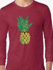 Zombie Pineapple #2 Long Sleeve T-Shirt