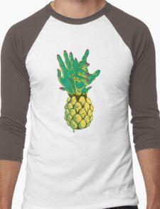 Zombie Pineapple #2 Men's Baseball ¾ T-Shirt