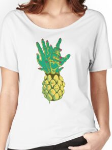 Zombie Pineapple #2 Women's Relaxed Fit T-Shirt