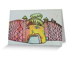 Luna Park  Greeting Card