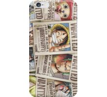 One Piece Wanted iPhone Case/Skin