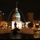 Old Courthouse at Night by Chappy