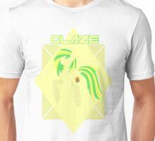 Minimalist Glaze Design Unisex T-Shirt