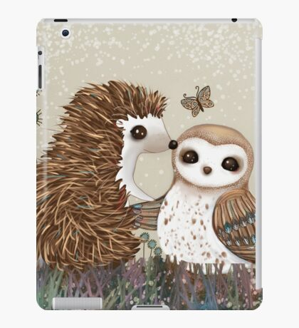 Owl and Hedgehog iPad Case/Skin