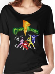 Mighty Morhpin Ginyu Rangers Women's Relaxed Fit T-Shirt