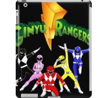Mighty Morhpin Ginyu Rangers iPad Case/Skin