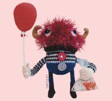 Monster, Red Balloon Kids Tee