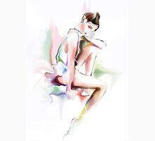fine young ballerina sitting  Unisex T-Shirt