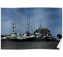 Boat Repair Poster