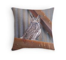 """This is my better side"" Throw Pillow"
