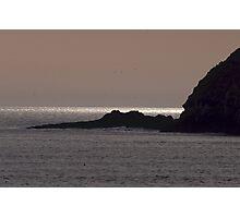 Sunset Three Arch Rocks Bird Sanctuary Photographic Print