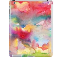 Abstract watercolor background2 iPad Case/Skin