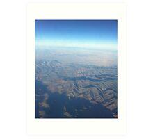 Over Utah Art Print