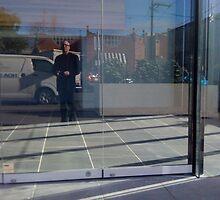 Self Portrait - in the Street by Pilgrim