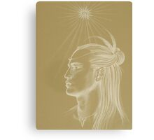 Peace Warrior Canvas Print