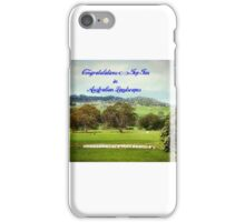 Australian Landscapes Banner iPhone Case/Skin