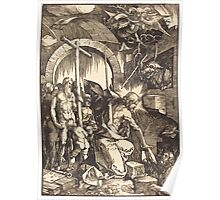 Albrecht Dürer or Durer Christ in Limbo (2) Poster