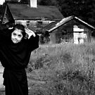 The Grim Reaper goofs off by kaneko