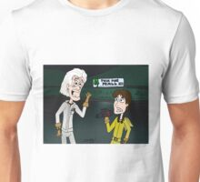 "BttF - Twin Pine Mall ...""Run for it, Marty!"" Unisex T-Shirt"