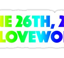 #LoveWon Sticker
