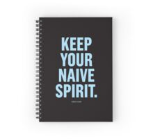 Tobias Sloane Quote Series 8 Spiral Notebook