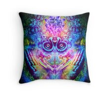 Transition to Butterfly Throw Pillow