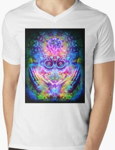 Transition to Butterfly Mens V-Neck T-Shirt