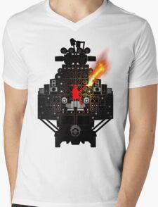 The Party Wagon Mens V-Neck T-Shirt