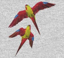 ICON - Swift parrot by tasmanianartist Kids Clothes