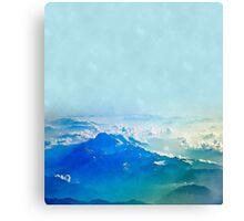 Ice cream Mountain #redbubble Canvas Print