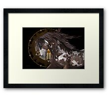 Apache .. The Stallion Framed Print