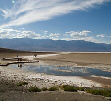 Badwater Basin, California by Jessica Duley