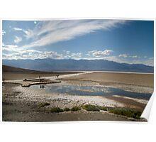 Badwater Basin, California Poster