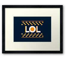 LOL Framed Print