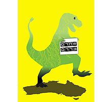 Digital Literacy -Walking with dinasaurs  Photographic Print