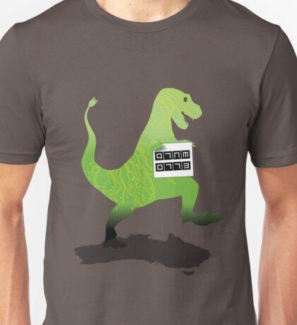 Digital Literacy -Walking with dinasaurs  Unisex T-Shirt